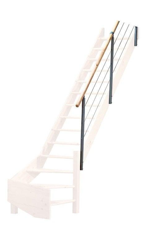 Cottage rampe en sapin et métal modèle D