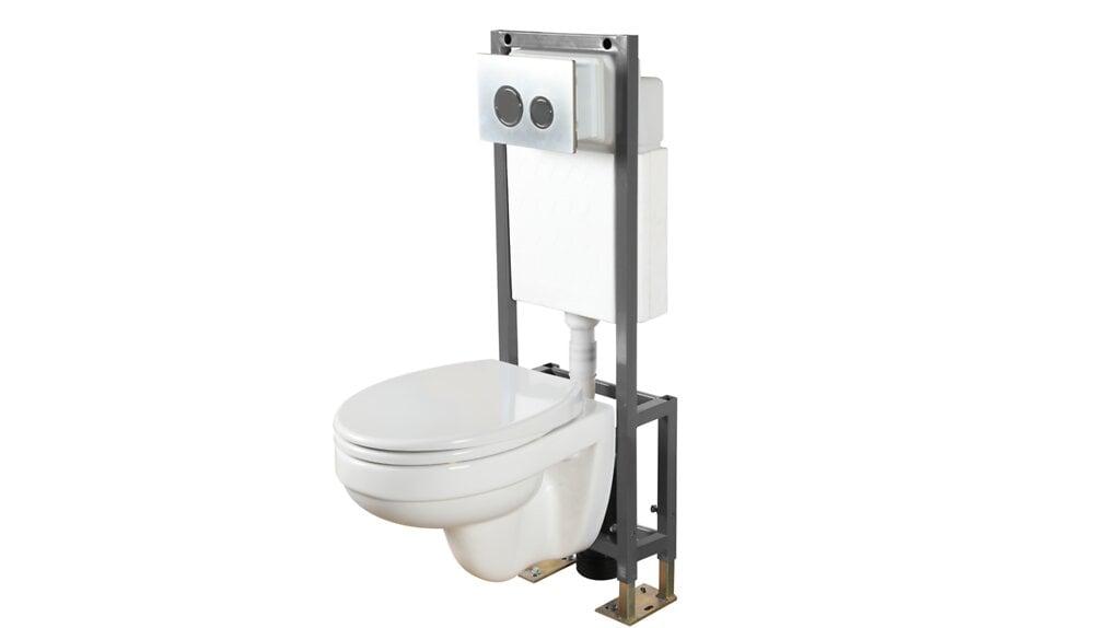 Pack wc suspendu autoportant
