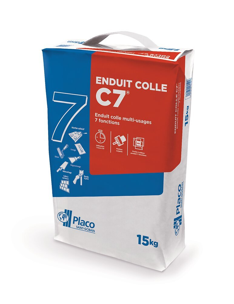 Enduit colle multi-usages C7 15kg
