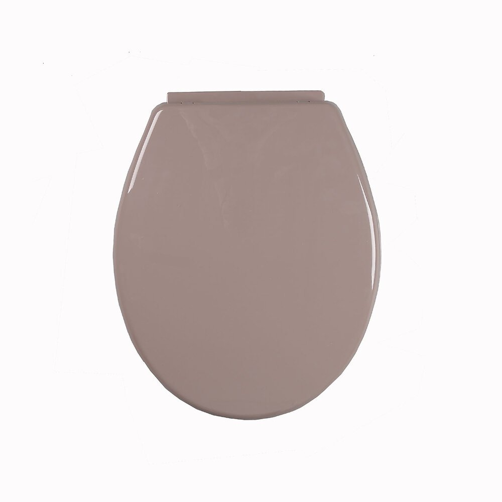 ABATTANT THERMO TAUPE