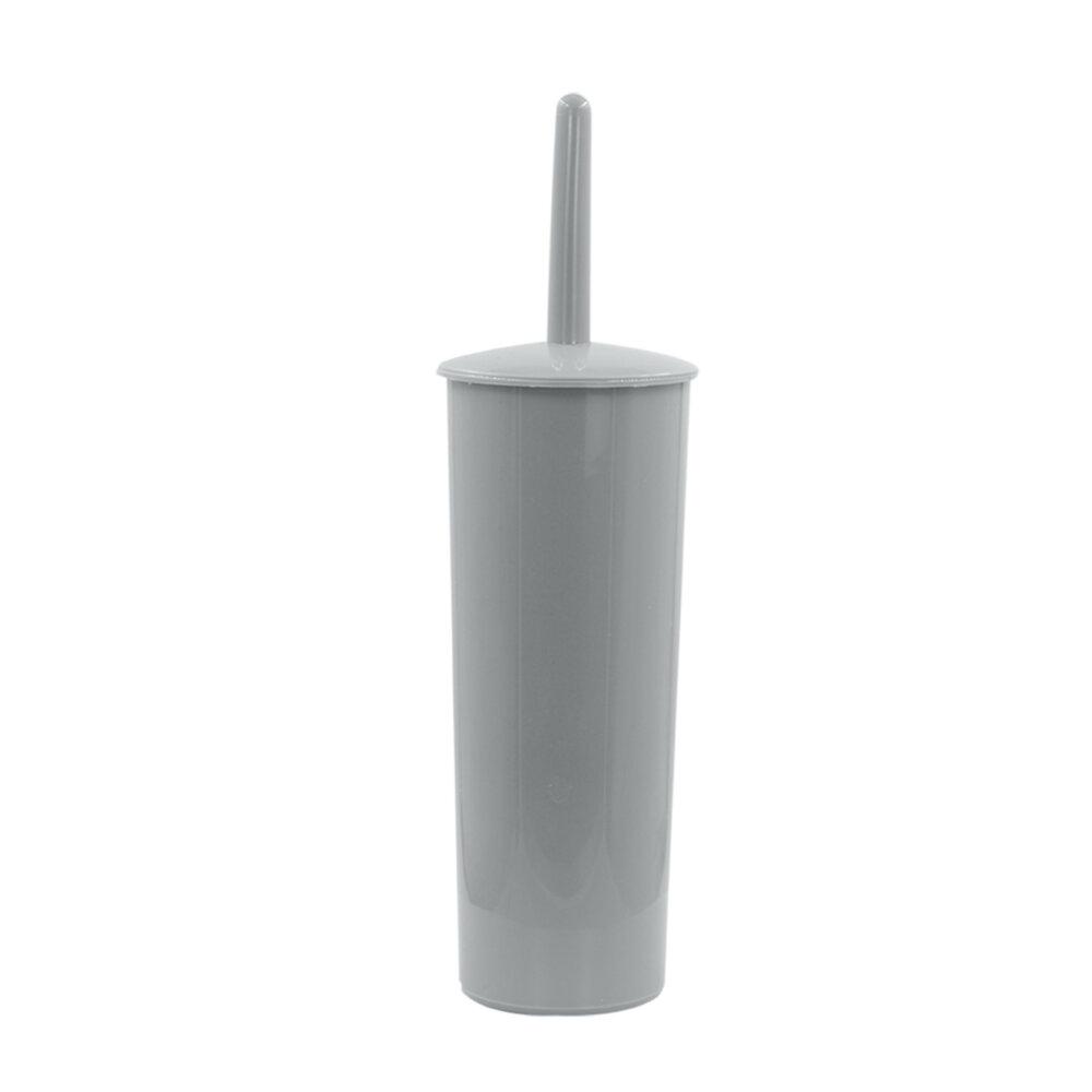 BROSSE WC PLASTIC GRIS