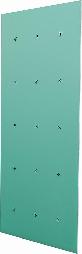 Plaque de plâtre hydrofugée BA13 NF 2.5x1.2M
