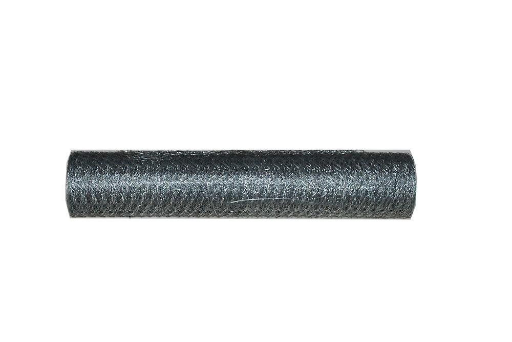 Volière triple torsion galvanisée maille de 25x25 mm, hauteur 50 cm