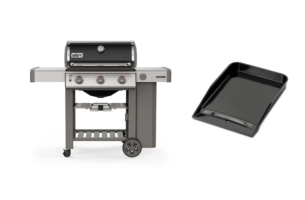 Genesis II E-310 + plancha barbecue à gaz
