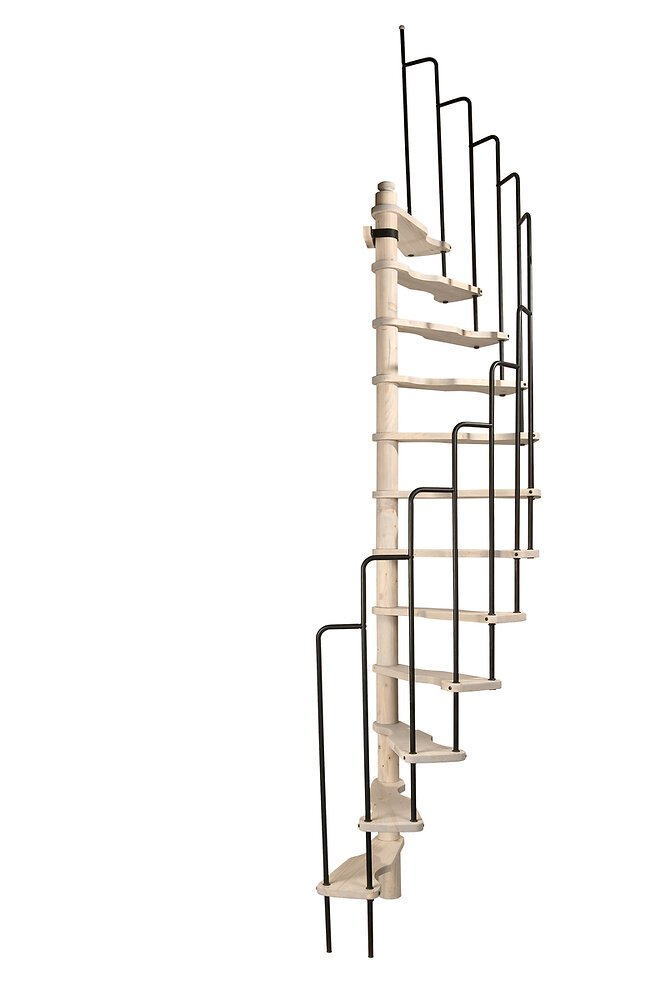 Escalier demi spirale SATURNE 120X60cm