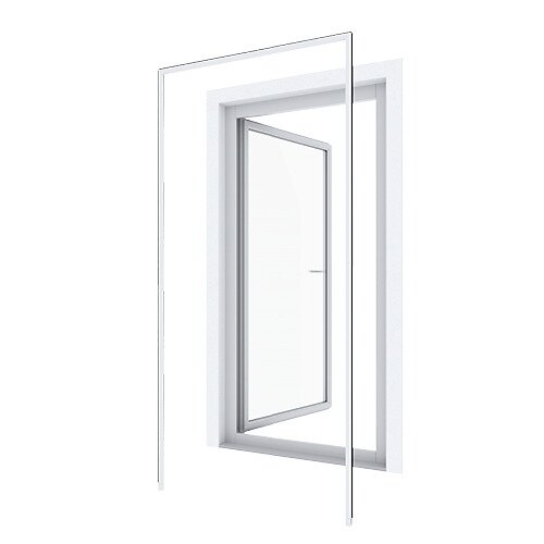 Huisserie pour porte battante blanc 125x245cm
