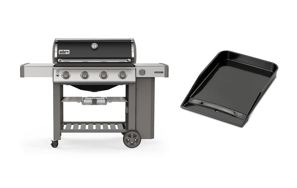 Genesis II E-410 + plancha barbecue à gaz