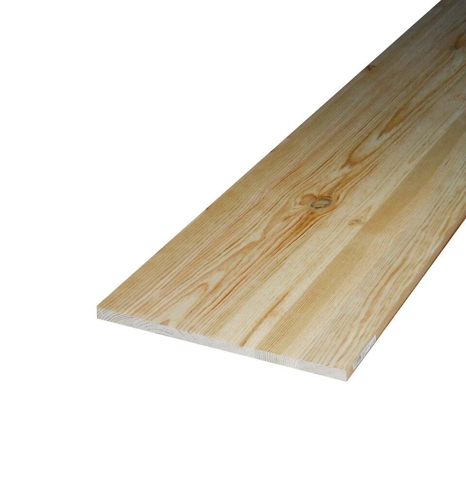 Plateau table Pin rustique 34x800 L.2m
