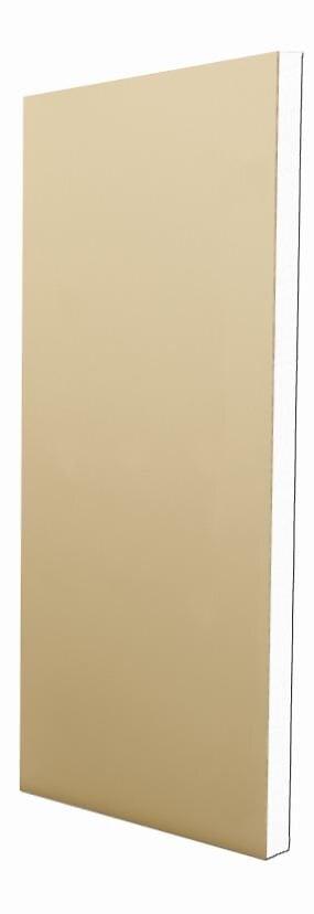 Doublage à coller PSE 2.5x1.2m épaisseur 10+60mm R=1.60