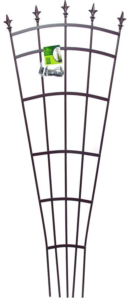 Treillis éventail décoratif Rouille 0.61x1.50m