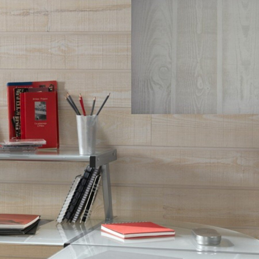 Lambris Pin brsc choix 1 gris 200x14x1.8cm
