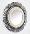 Miroir bambou diamètre 60cm rond
