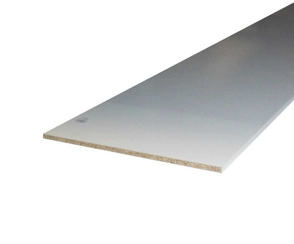 Tablette Mélaminé blanc 18x400 L.2.50m
