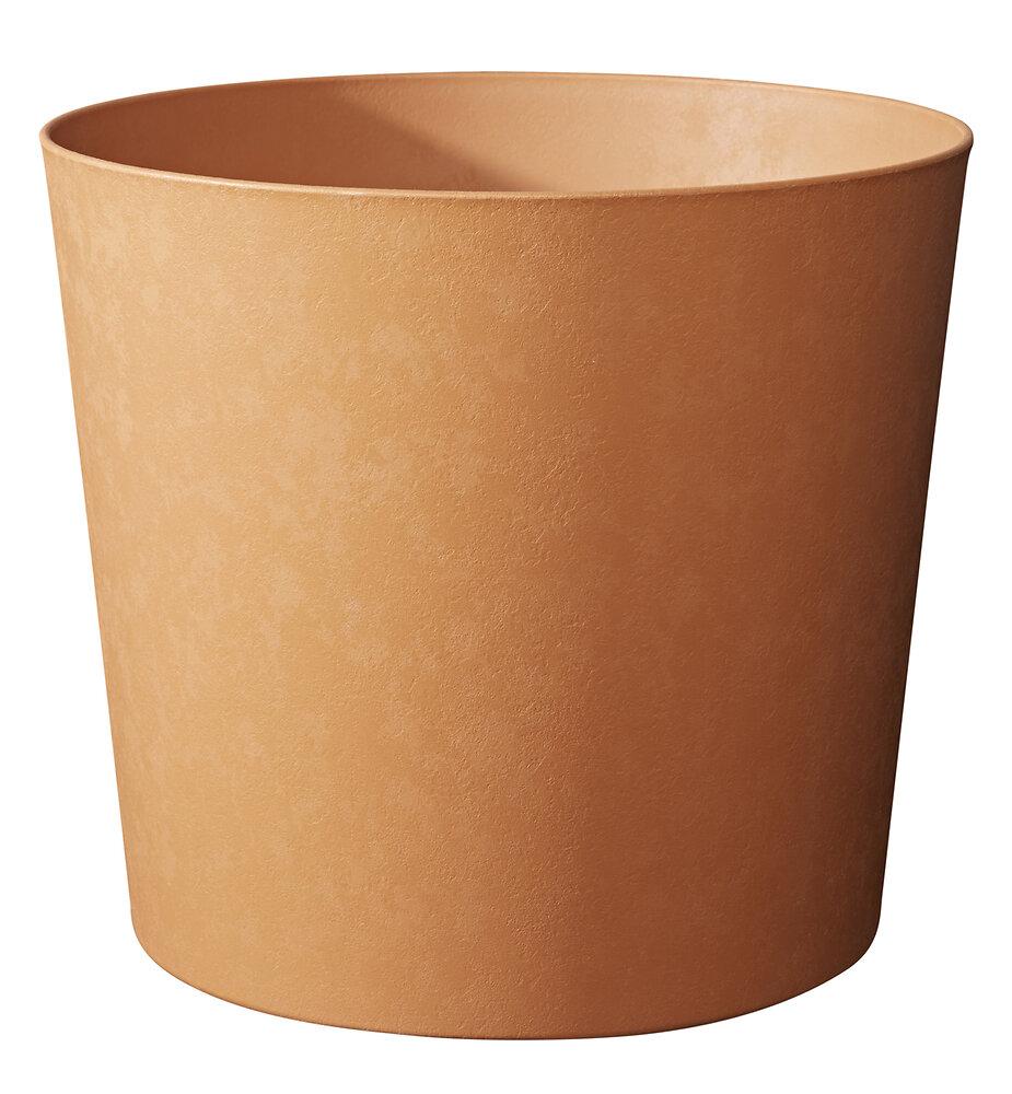 Pot Element conique 25 terre de sienne
