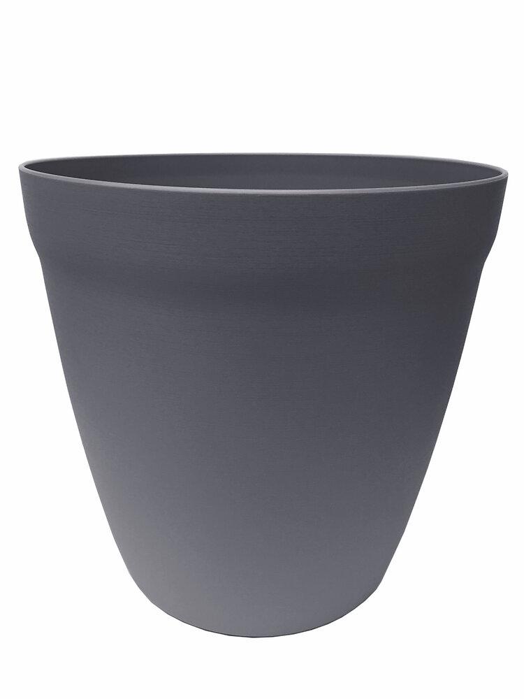 Pot Lilo rond 24 béton
