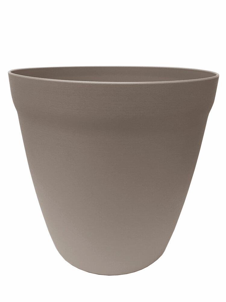 Pot Lilo rond 34 calcaire