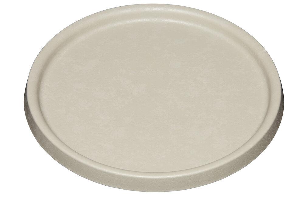 Soucoupe pot Element 34 calcaire