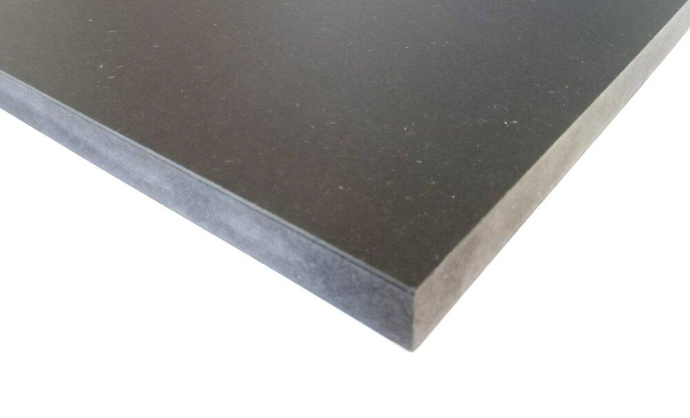 Panneau MDF noir 2440x1220x19mm