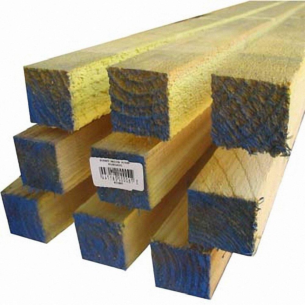 Demi-liteau Epicéa traité 14x27mm L.3m