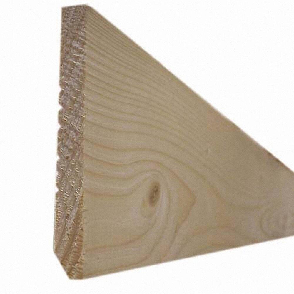 Plinthe Sapin petits nœuds 8x42mm L.2.05m