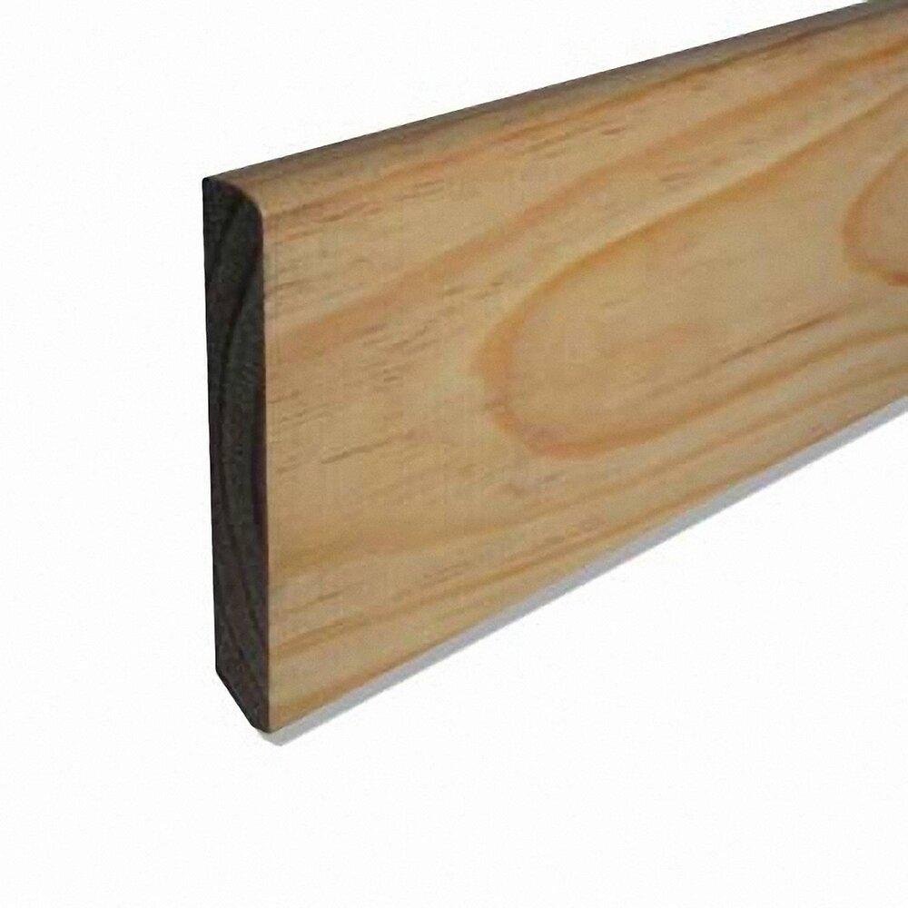 Plinthe Pin rustique 9x98mm L.1.98m