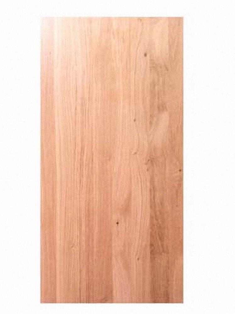 Tablette bois massif Chêne 800x400x18mm