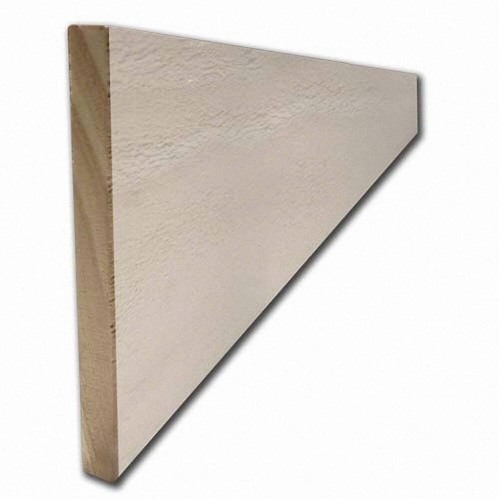 Plinthe Pin brut Blanc 12x100m L.2.38m