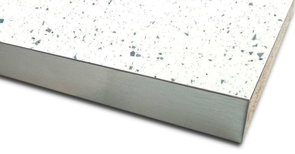 Plan de travail Blanc pailleté 3040x640x38mm