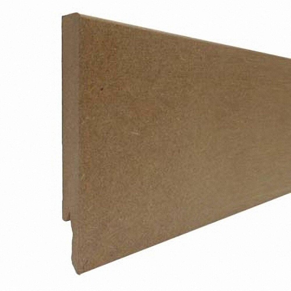 Plinthe MDF brut 14x120mm L.2.40m