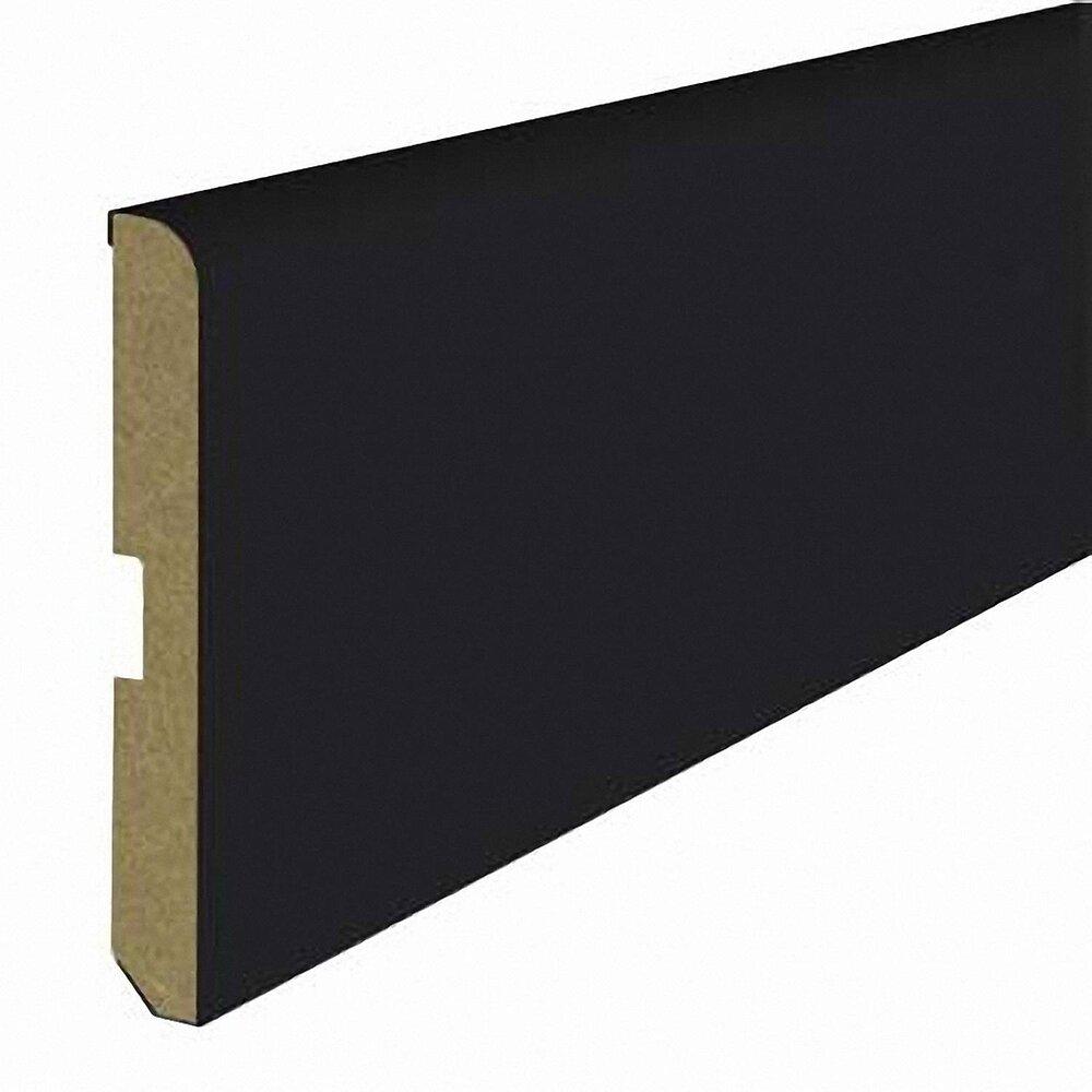 Plinthe MDF revêtu Noir 8x700mm L.2.20m