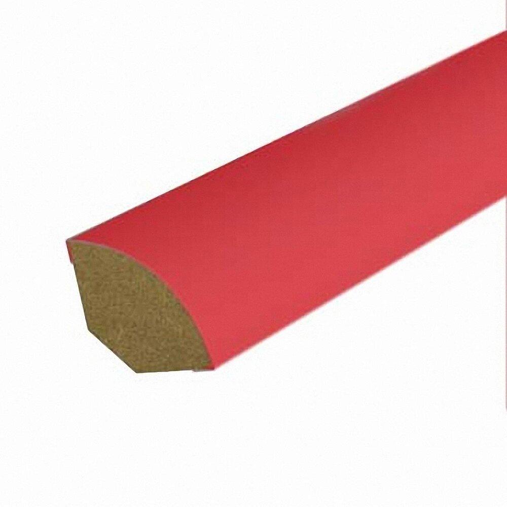 Quart-de-rond MDF revêtu Rouge 12x12mm L.2.20m