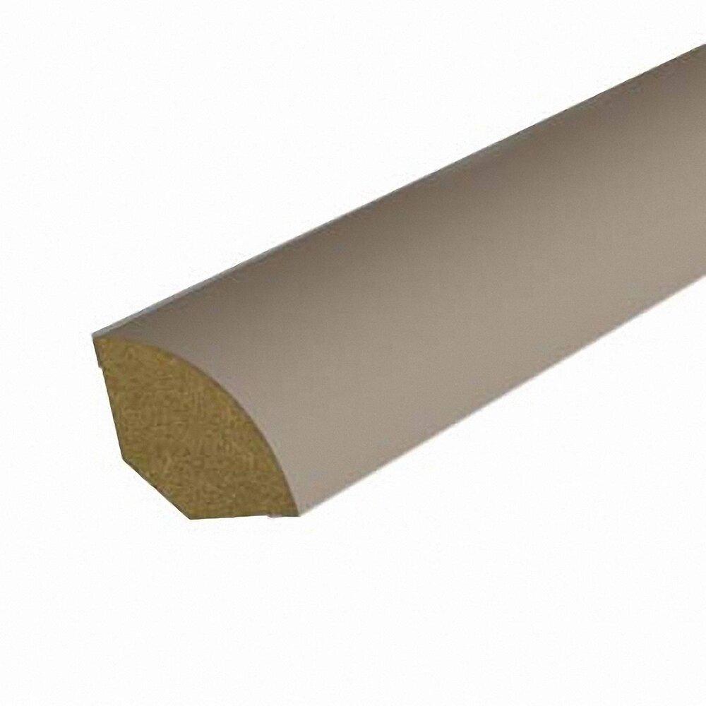 Quart-de-rond MDF revêtu Taupe 12x12mm L.2.20m