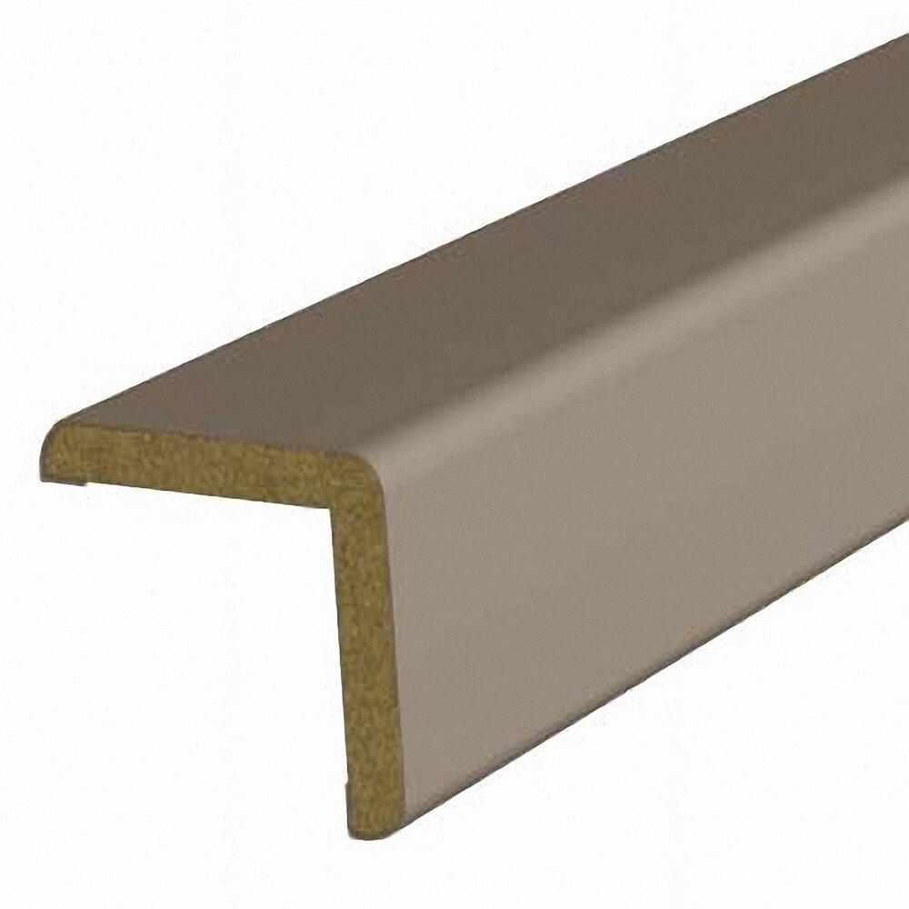 Baguette d'angle MDF revêtu Taupe 25x25mm L.2.20m