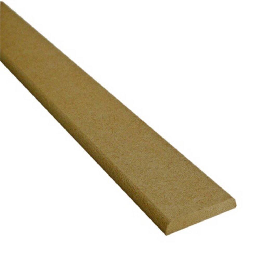 Chant plat MDF brut 5x30mm L.2.20m