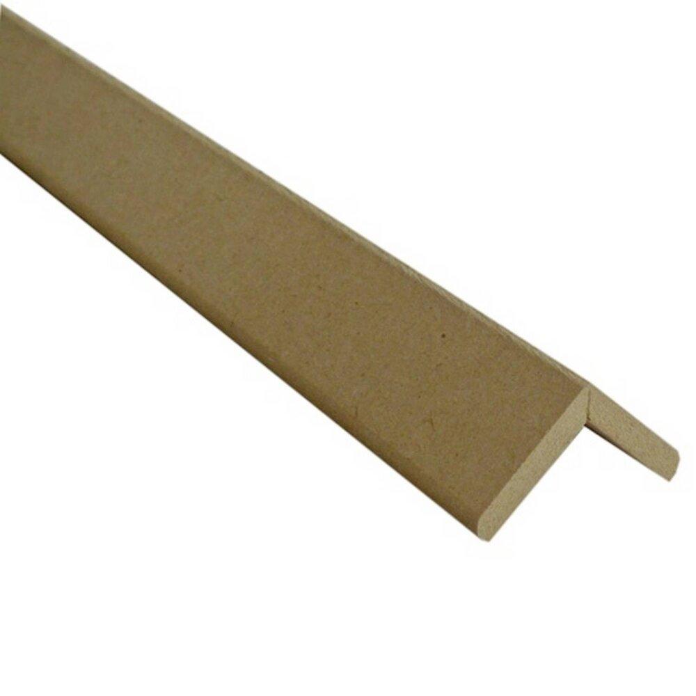 Baguette d'angle MDF brut 28x28mm L.2.20m