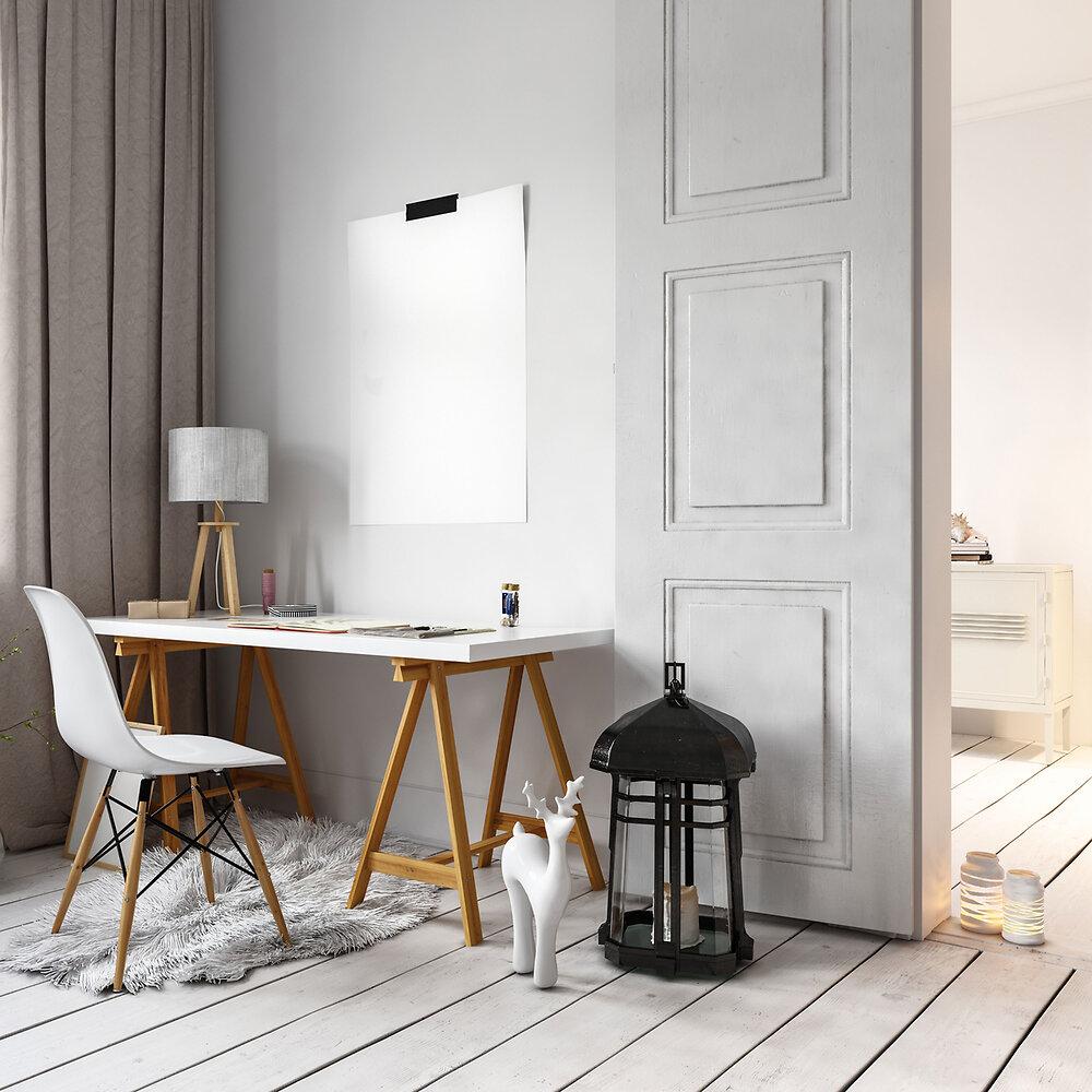 Peinture SIMPLE et DECO RADIATEURS SATIN Blanc Cassé 0.5L
