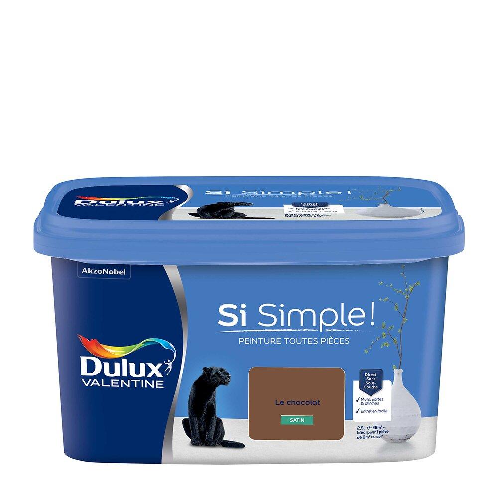Peinture Si Simple Satin Le Chocolat Pot 2.5L