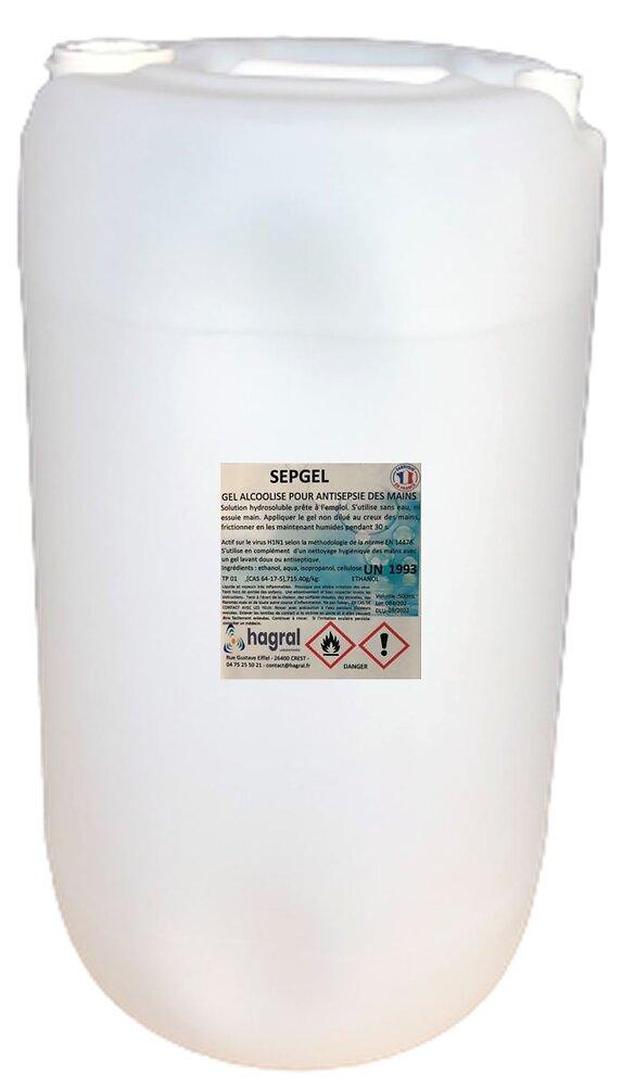 Gel hydroalcoolique 30L