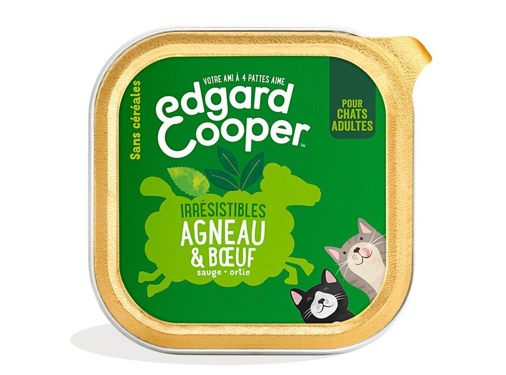 Barquette Naturelle Chat 85g Agneau/Boeuf frais