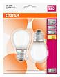 Lot de 2 ampoules sphériques E27 LED 470 Lm équivalent 40W