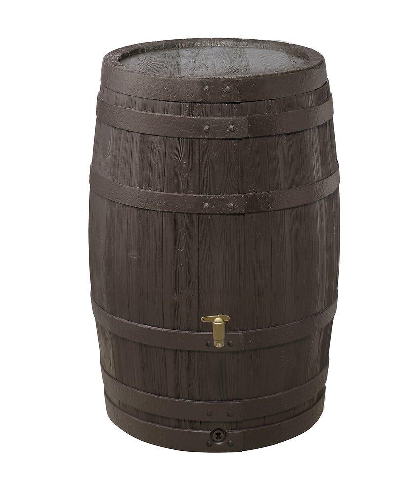 Réservoir à eau tonneau vino 250L brun