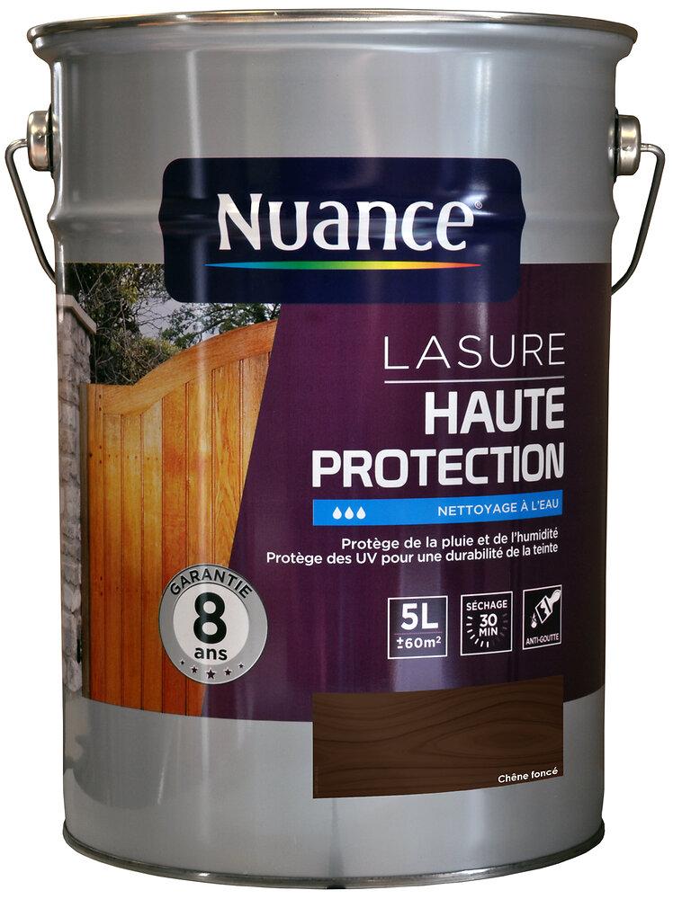Lasure acrylique haute protection chêne foncé 5L