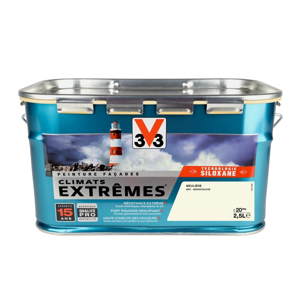 Peinture façades Climats Extrêmes Mat Meulière 2.5l