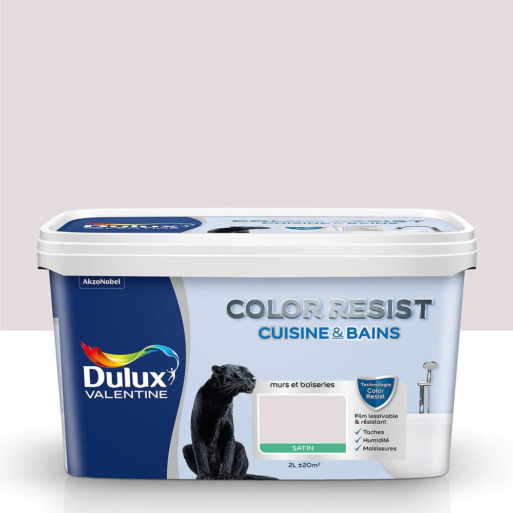 Peinture Color Resist Cuisine et Bains SATIN Rose Nude 2L