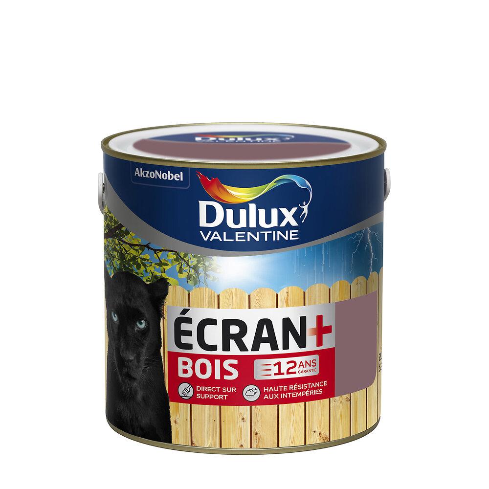 Ecran+ Bois DULUX VALENTINE Orage RAL 5014 satin 2L