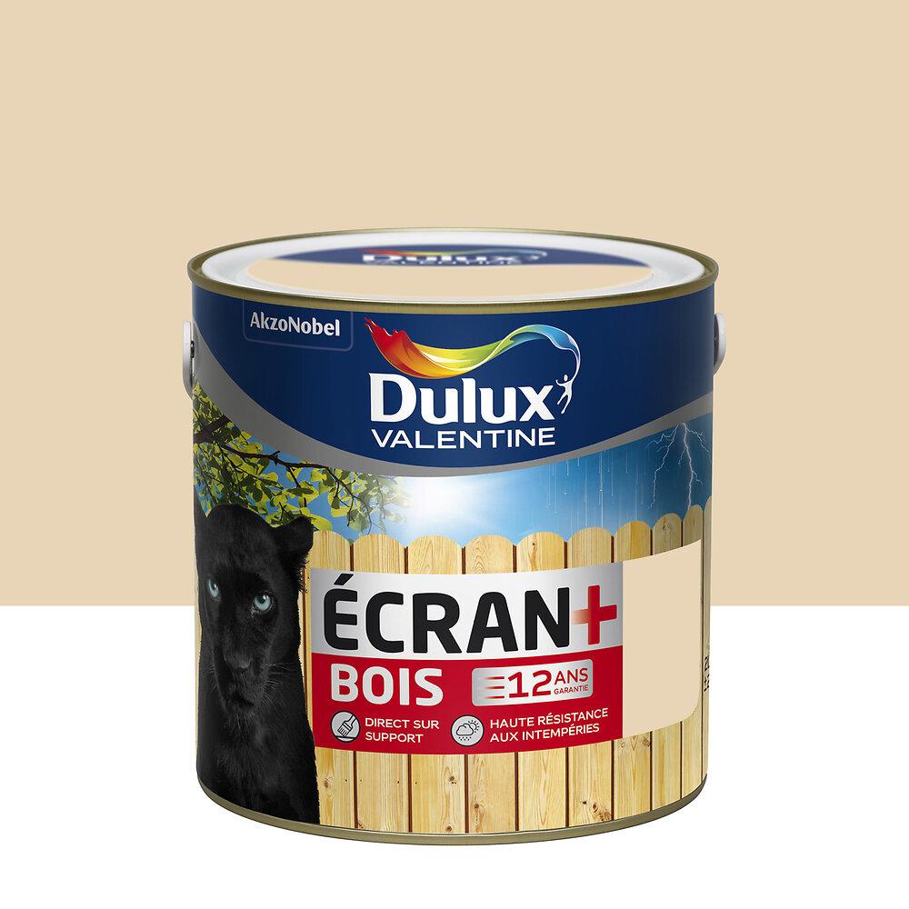 Ecran+ Bois DULUX VALENTINE Sable Clair RAL 1015 satin 2L