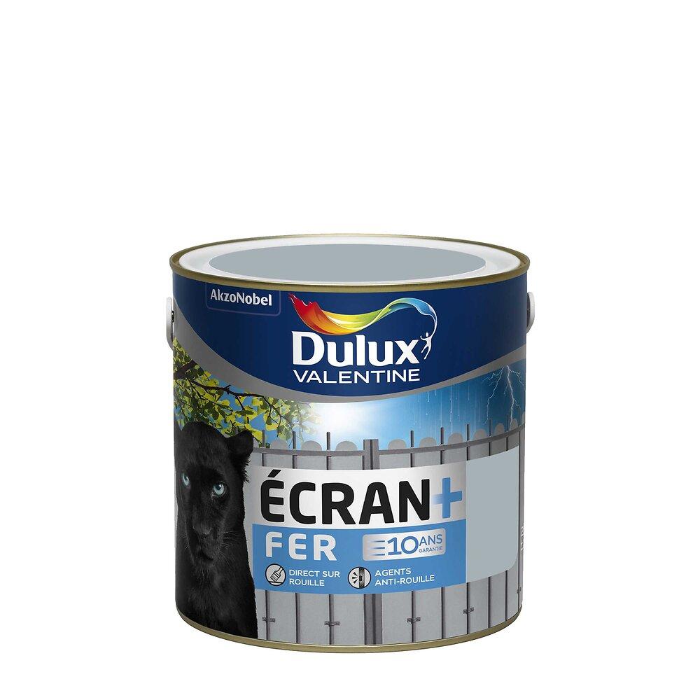 Peinture Ecran+ Fer Brillant Gris Acier Pot 2L