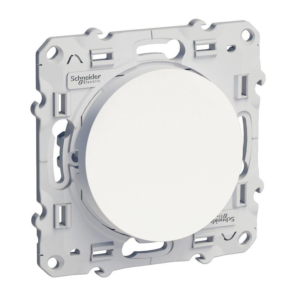 Interrupteur ou Va et Vient Lumineux Odace 230 V Blanc