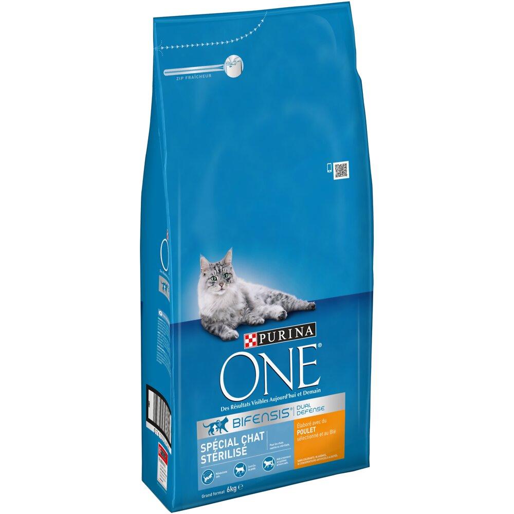 Croquettes chat stérilisé - 6kg
