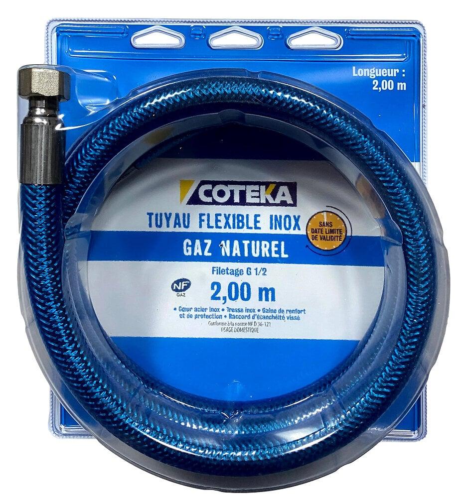 Flexible gaz naturel 2m date illimitée